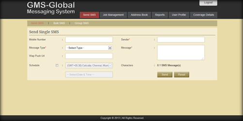 Global Messaging System