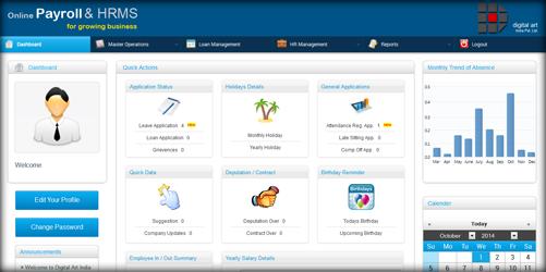 Web Base payroll management system (HRMS)
